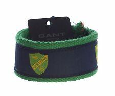 GANT Women's Delly Green Contrast Stripe Bracelet Sz O/S $25 NWT