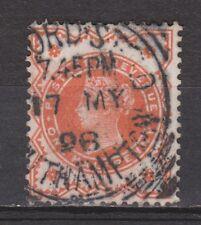 Great Britain nr 86 TOP CANCEL Victoria 1887 VEILING oude POSTZEGELS ENGELAND