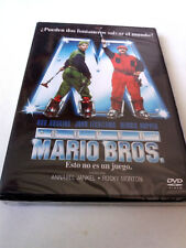 "DVD ""SUPER MARIO BROS"" PRECINTADO SEALED BOB HOSKINS JOHN LEGUIZAMO DENNIS HOOPE"