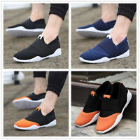 Men's England Canvas Casual Sneakers Sport Breathable Running Recreational Shoes