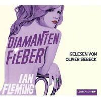 IAN FLEMING - JAMES BOND: DIAMANTENFIEBER 4 CD HÖRBUCH KRIMI  NEU