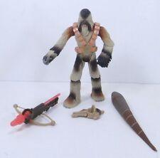 Hasbro Star Wars ROTS Light Wookiee Warrior  Kashyyyk Battle Bash Action Figure