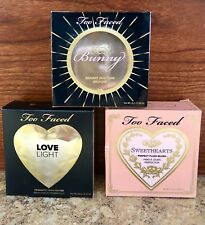 Too Faced Blush TRIO - Sweethearts, Sun Bunny & Love Light NEW/Authentic