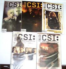 CSI 1-5 +BAD RAP +DEMON HOUSE +DOMINOS Sets Crime Scene Investigation 20 Issues