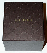 GUCCI FASHION WATCH BOX WITH PILLOW-DISPLAY BOX ONLY EXCELLENT CONDITION