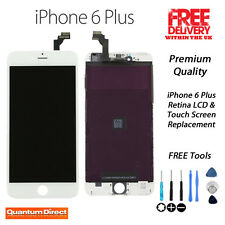 NEW iPhone 6 Plus Retina LCD & Digitiser Touch Screen Assembly Replacement WHITE