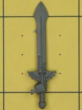 Warhammer 40K Ángeles de marines espaciales oscuro Ravenwing comando escuadrón espada de energía (B)