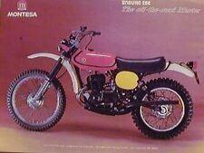 MONTESA ENDURO 250 Original Motorcycle Ad 1975