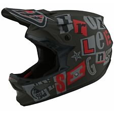 Troy Lee Designs D3 Helmet Tld Bmx Mtb Downhill Fiberlite Anarchy Olive NEW 2021