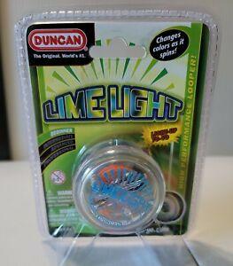 Duncan Lime Light Yo-Yo with LED Lights Transparent Green NEW SEALED