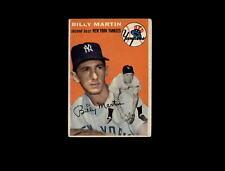 1954 Topps 13 Billy Martin VG #D1,008305