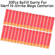 30x Refill Darts Sniper Bullet Fr Nerf N-Strike Elite Mega Centurion Gun Kid Toy