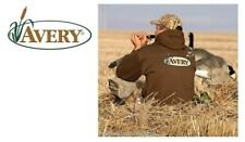 Avery Logo Wildfowlers/Pigeon shooters Dark Moss Hoodie Size Large