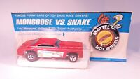 🚨 REDLINE ORIGINAL 1970 MONGOOSE FUNNY CAR IN CUT BLISTERPACK BP CHECK IT OUT🚨