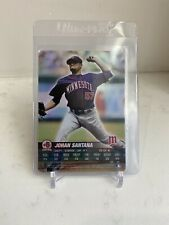 MLB Showdown 2005. Johan Santana Foil Card Minnesota Twins#195