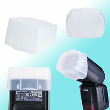Canon 600EX II-RT Speedlite Flash Bounce Diffuser Soft Cap Semi-Transparent JJC