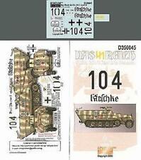 Echelon Decals-356045 1/35 Das Reich SdKfz 251/3 Ausf D Normandy