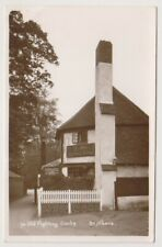 Hertfordshire postcard - Ye Old Fighting Cock, St Albans - RP (A144)