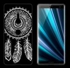 TPU Tattoo Case Spring Design für Sony Xperia XZ3 / XZ3 Dual Etui Tasche Hülle
