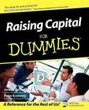 Raising Capital for Dummies by Bartlett, Joseph W.