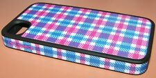 Speck FabShell hard shell case iPhone 4/4s,  Plaid Fabric covered over Silicone