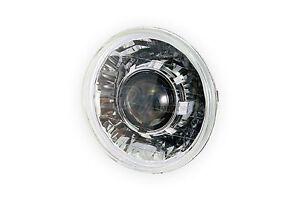 "7"" Round Diamond-Cut Projector Headlight V2 Model HID Kit (LHD, Chrome)"