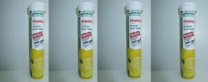 4 x 20pc. Altapharma VITAMIN C Lemon Taste dissolvable tablets New from Germany