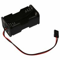 Futaba Plug Connector RC 4 x AA Battery Holder Box Case For Helicopter F7A5