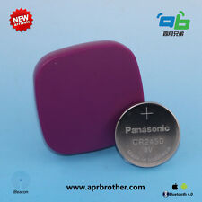 Purple with CR2450 battery Ble 4.0 iBeacon & Eddystone 3-5Years