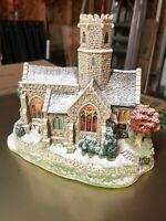 Lilliput Lane - Church - Light's Up - Lead Kindly Light - New w/ Box + Deed