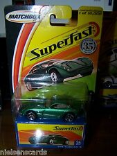 Matchbox Superfast #35 TVR Tuscan S 1 of 10,000 NIP