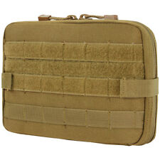 Condor Tactical Versatile T&T Pouch Map Notebook Case MOLLE Airsoft Coyote Brown