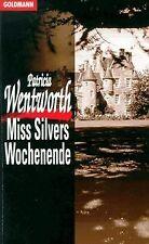 Miss Silvers Wochenende. von Wentworth, Patricia   Buch   Zustand gut