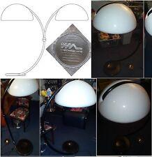Elio Martinelli Serpente FLOORLAMP Pavimento Lampada ARCO VINTAGE DESIGN 2131 arco