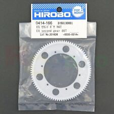 HIROBO 0414-166 EX SECOND GEAR 86T #0414166 HELICOPTER PARTS