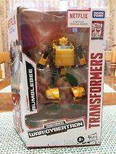 Transformers Netflix War for Cybertron Bumblebee (Walmart Exclusive) New In Hand
