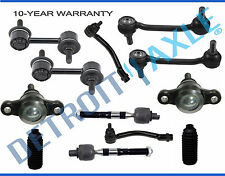 12pc Front & Rear Sway Bar Inner Outer Tie Rod Ball Joint Kit for Azera Sonata
