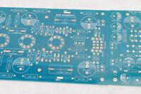 1pc Stereo tube amplifier 834 MM RIAA phono 12AX7*3 DIY bare PCB +PSB