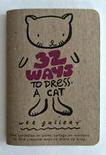 NEU kleines Malbuch für Katzenfreunde Katze Wee gallery