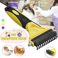 Professional Pet Grooming Undercoat Rake Comb Dematting Tool Cat Dog Brush