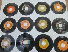 """Record Lot 11 Juke Box 45 7"""" VTG We Five,Vee,Chi Lites,Ohio Express,Diamond,Mann"""