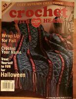 SPT045 CROCHET WITH HEART MAGAZINE, OCTOBER 1998