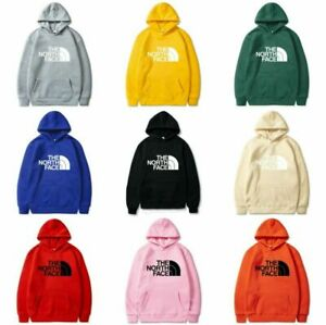 UK The North Face Womens Mens Pullover Sports Hoodie Sweater Hooded Jumper