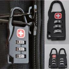 High 3 Digit Mini code Metal Combination Travel Luggage Lock Padlock Password