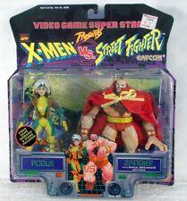 Toy Biz Marvel Capcom X-Men vs. Street Fighter Rogue vs. Zangief (MOC)