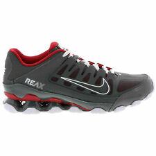 Nike Reax 8 TR Mesh Men's shox style Shoes 621716 013 Dark Grey Red White NEW
