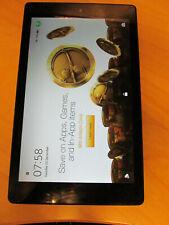 "Amazon Kindle Fire HD 8 Tablet with Alexa, 8"", 16GB (7th gen) BLACK 0BP5"