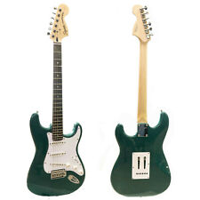 Electric Guitar Squier by Fender Strat Green Stratocaster With Tremolo - Z99