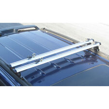 "Silver J1000 ladder roof van rack 60"" cross bar (Fits Factory 1"" tracks)"