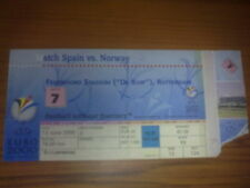 Ticket Spain - Norway 2000 EURO game #7
